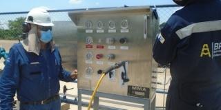 Entregamos e instalamos dos paneles de control para (SWCP) - YPFB Andina SA