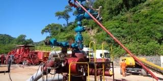 Instalacion de Coild tubing (volcity steam)